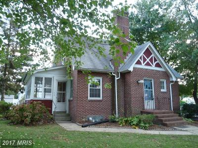 Havre De Grace Single Family Home For Sale: 870 Ontario Street