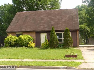 Joppa Single Family Home For Sale: 722 Falconer Road
