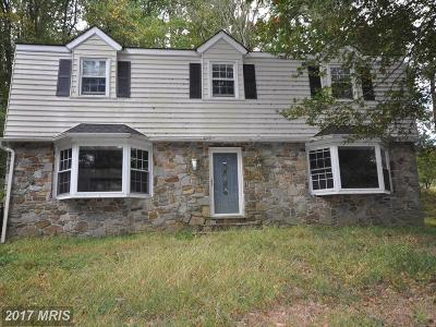 Fallston Single Family Home For Sale: 1723 Carrs Mill Road