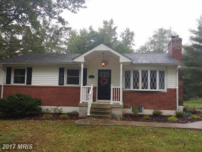 Joppa Single Family Home For Sale: 1615 Holly Drive