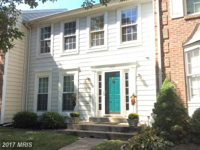 Bel Air Townhouse For Sale: 2228 Hill Court