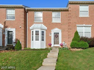 Harford Townhouse For Sale: 526 Buckstone Garth