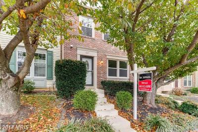 Bel Air Townhouse For Sale: 807 Comer Square