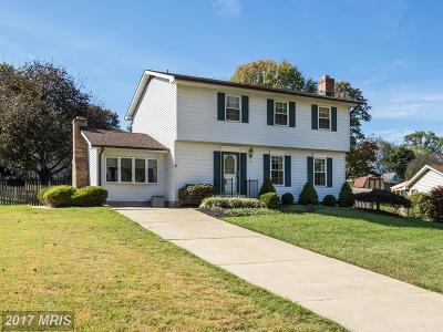 Bel Air Single Family Home For Sale: 611 Dewsbury Court