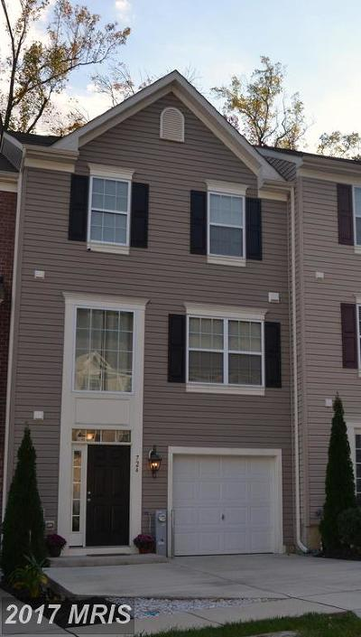 Aberdeen Townhouse For Sale: 724 English Ivy Way