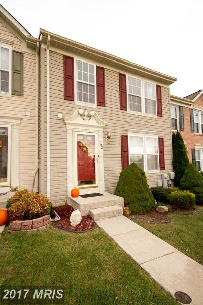 Joppa Townhouse For Sale: 502 Sourghum Court
