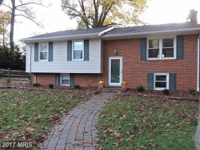Bel Air Single Family Home For Sale: 1406 Marywood Drive