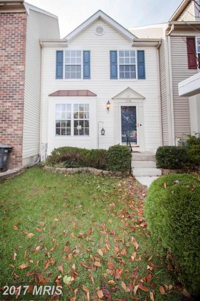 Abingdon Townhouse For Sale: 3308 Midland Court