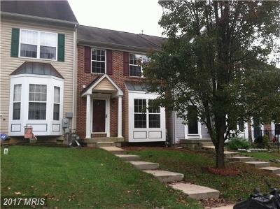 Abingdon MD Townhouse For Sale: $230,000