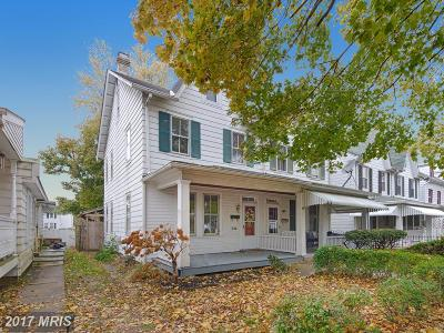Havre De Grace Townhouse For Sale: 326 Union Avenue S