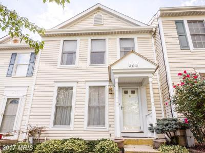 Abingdon MD Townhouse For Sale: $174,900