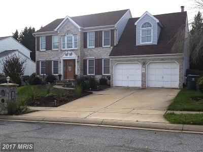 Harford, Harford County Single Family Home For Sale: 2304 Chantaway Court