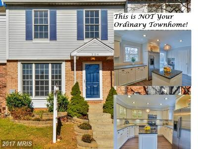 Abingdon MD Townhouse For Sale: $214,900