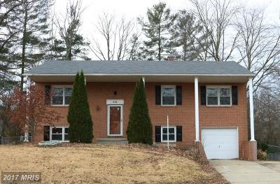 Harford Single Family Home For Sale: 218 Doncaster Road