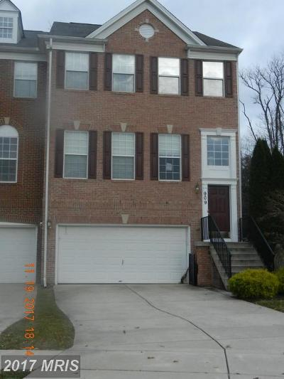 Harford Townhouse For Sale: 909 Creek Park Road