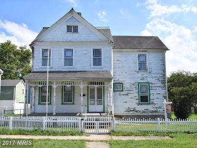 Havre De Grace Single Family Home For Sale: 618 Bourbon Street