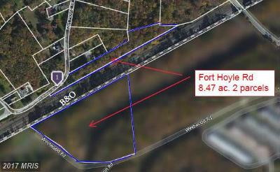 Edgewood Residential Lots & Land For Sale: Fort Hoyle Road