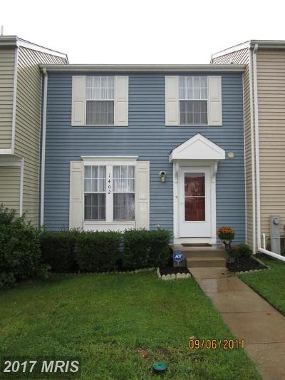 Belcamp MD Townhouse For Sale: $169,000