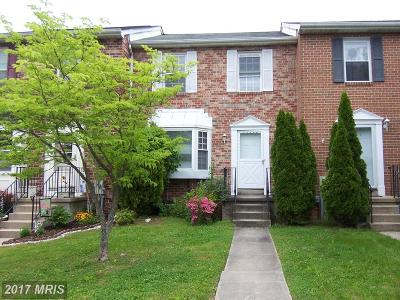 Bel Air MD Townhouse For Sale: $209,900