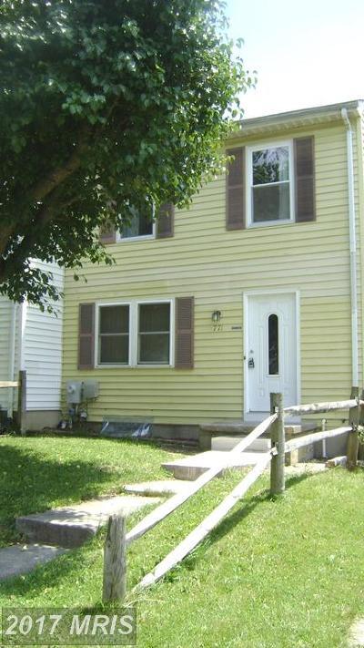 Aberdeen Townhouse For Sale: 771 Custis Street