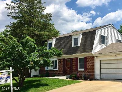 Joppa Single Family Home For Sale: 427 Gilmor Road