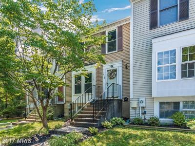Laurel Townhouse For Sale: 9335 Cabot Court