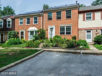 Columbia Townhouse For Sale: 5809 Humblebee Road