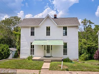 Elkridge Single Family Home For Sale: 5846 Main Street