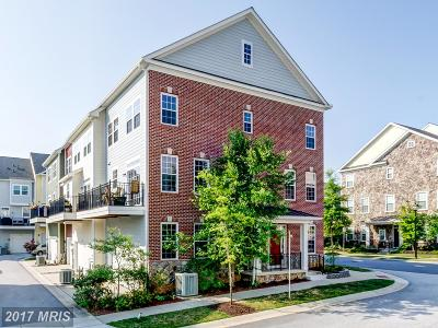 Ellicott City Townhouse For Sale: 6028 Talbot Drive