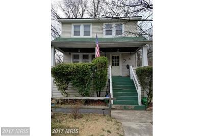 Elkridge Single Family Home For Sale: 5538 Levering Avenue