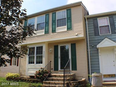 Elkridge Townhouse For Sale: 6308 Green Field Road