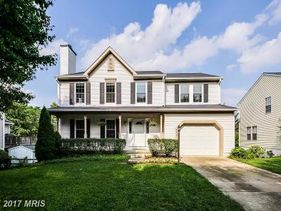 Ellicott City Single Family Home For Sale: 5413 Autumn Field Court