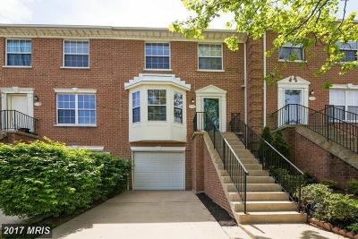 Columbia Townhouse For Sale: 9056 Constant Course