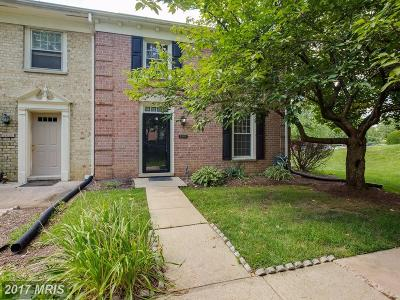 Laurel Townhouse For Sale: 9887 Whiskey Run