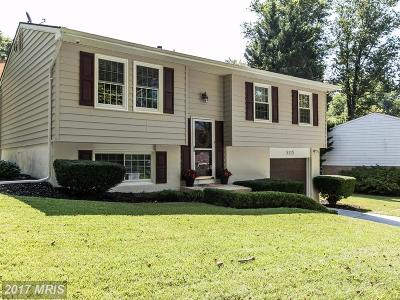 Columbia Single Family Home For Sale: 5115 Thunder Hill Road