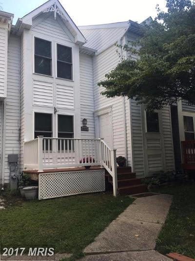 Ellicott City Townhouse For Sale: 8679 Ridge Road