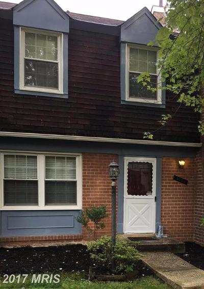 Columbia Townhouse For Sale: 5765 Flagflower Place