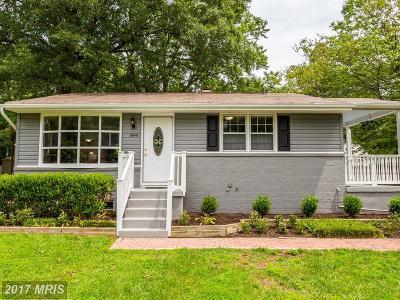 Laurel Single Family Home For Sale: 9546 Fulton Avenue