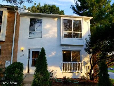 Columbia Townhouse For Sale: 7436 Sweet Clover