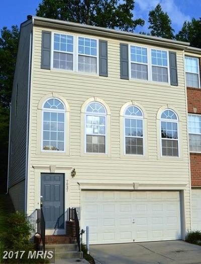 Elkridge Townhouse For Sale: 7037 Water Oak Road #40
