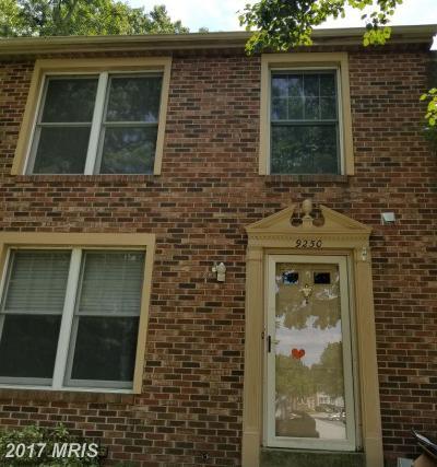 Laurel Townhouse For Sale: 9250 Pinenut Court