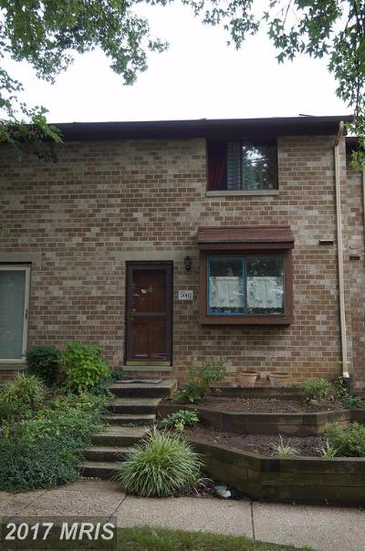 Columbia Townhouse For Sale: 7007 Knighthood Lane