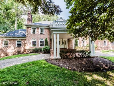 Ellicott City Single Family Home For Sale: 11886 Farside Road