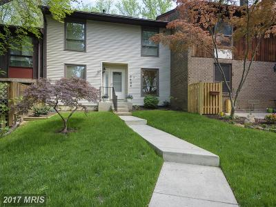 Columbia Townhouse For Sale: 5668 Thicket Lane
