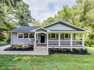 Ellicott City Single Family Home For Sale: 4886 Wharff Lane