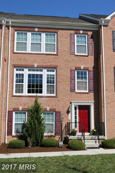 Elkridge Townhouse For Sale: 8733 Blazing Brook Way #52