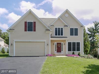 Ellicott City Single Family Home For Sale: 2705 Rocky Glen Way