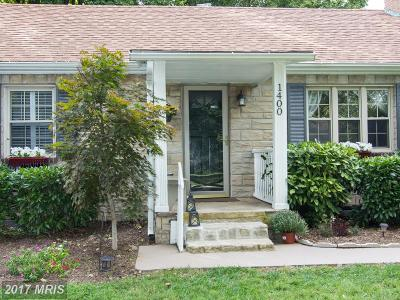 Sykesville Single Family Home For Sale: 1400 State Route 97