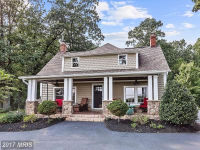 Ellicott City Single Family Home For Sale: 4333 Maisel Farm Lane