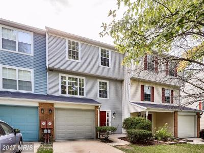 Ellicott City Townhouse For Sale: 4639 Hallowed Stream